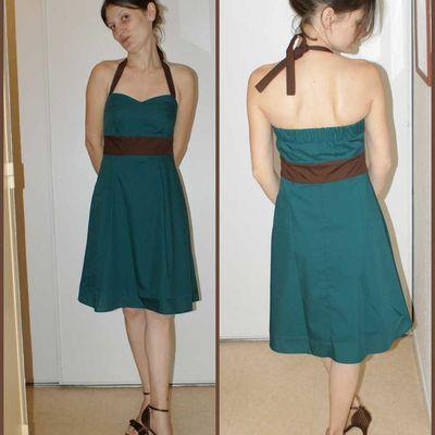 Elise et sa robe !!!