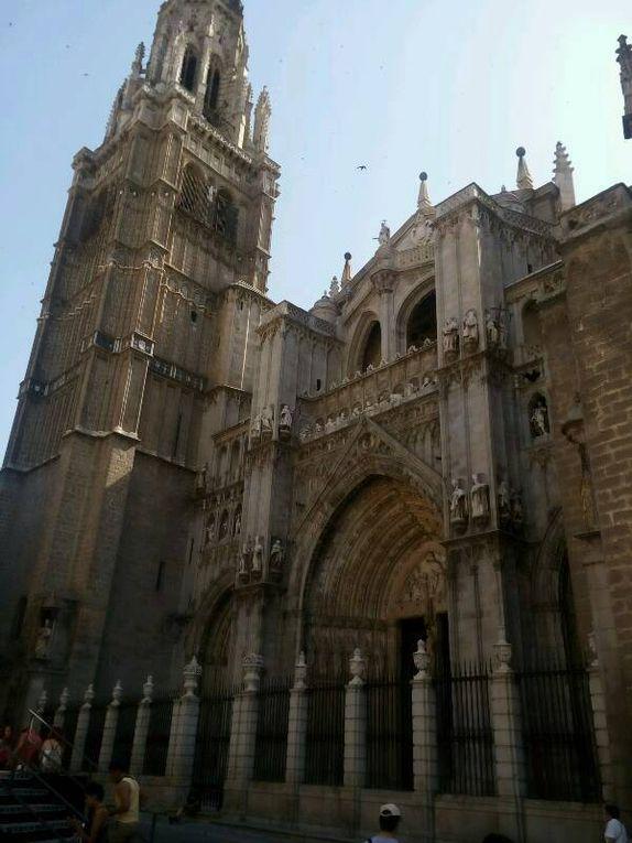Tolede : toujours la cathédrale.