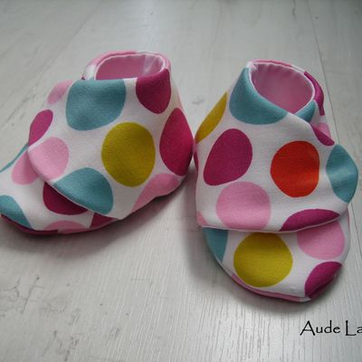 Chaussons Pois