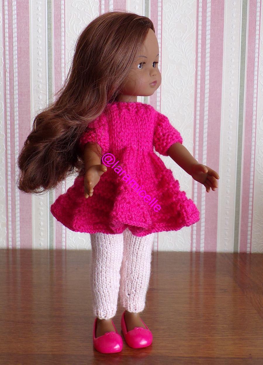 tuto gratuit  poupée  : mini robe évasée