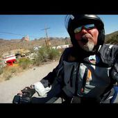 Goldwing Unsersbande - On arrive sur Oatman