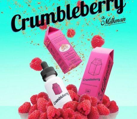 Test - Eliquide - Crumbleberry de chez The Milkman
