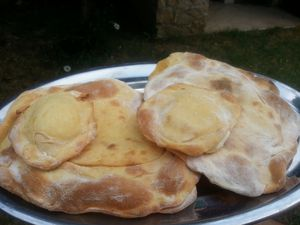 CHEESE NAAN - THERMOMIX