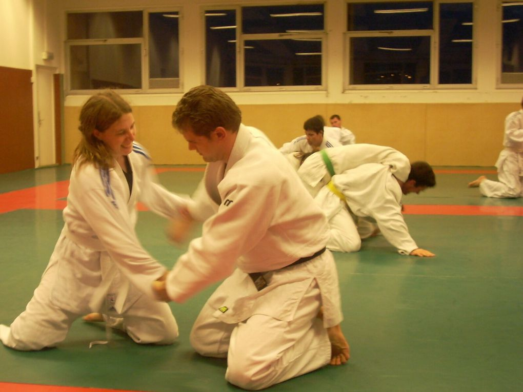 Images d'archives SUAPS Brest 2008-2009 : Judo et Self défense