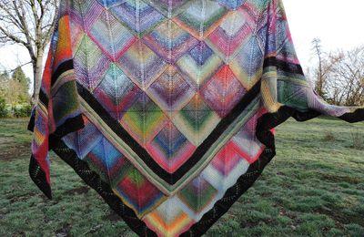 Comment tricoter un châle en modulaire ?