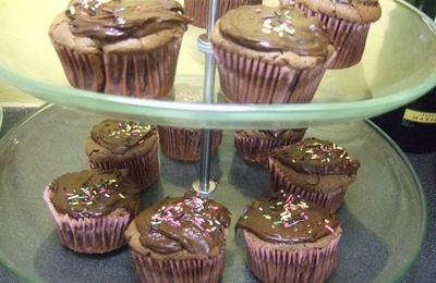 cupcakes fondant chocolat mascarpone