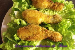 Pilons de poulet panné
