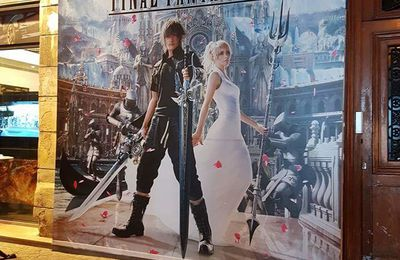 Bar restaurant éphémère aux couleurs de Final Fantasy XV