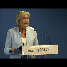 EMPLOIS FICTIFS : LE CAS DE MARINE LE PEN EST TOTALEMENT DIFFÉRENT DE CELUI DE FILLON