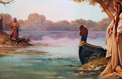 La Quête, et l'Amour courtois au XIXe siècle