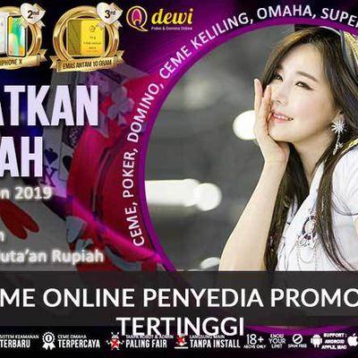 Judi Ceme Online Penyedia Promo Bonus Tertinggi