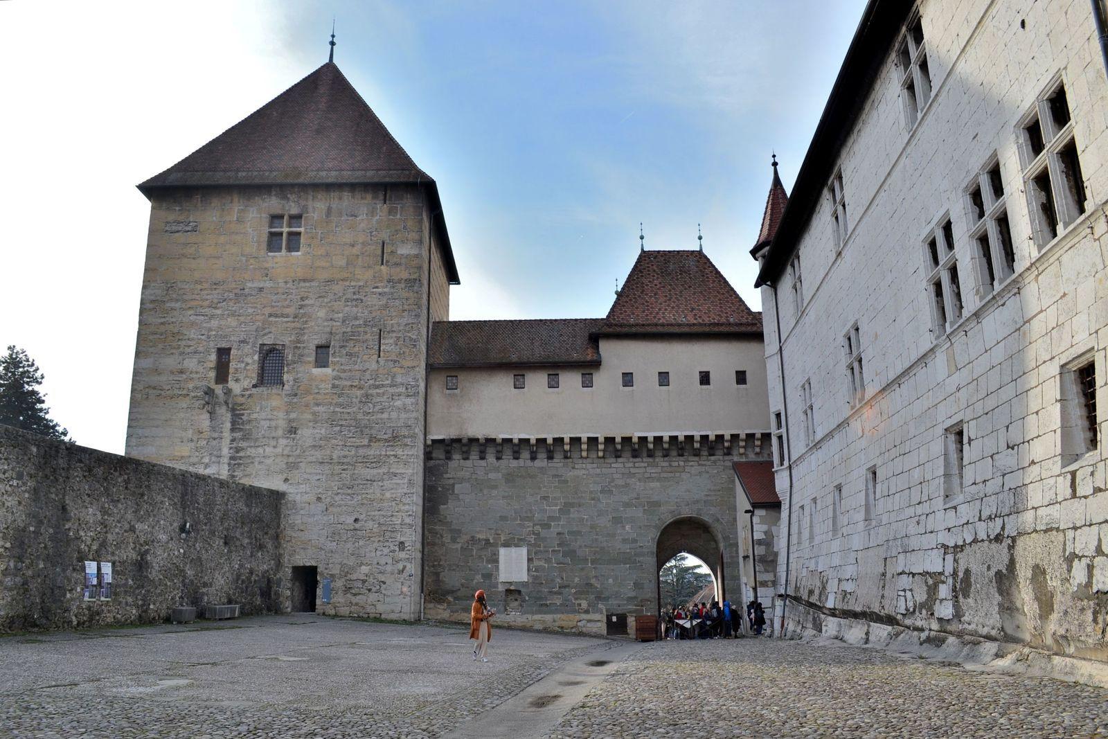 Le Château d'Annecy...