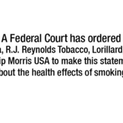 L'industrie du tabac forcée de faire son anti-pub à la télé américaine
