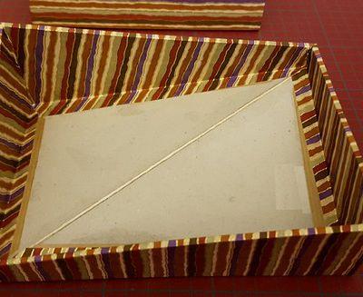 Des rayures pour une boîte casse-tête ... (4)