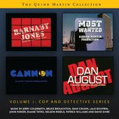 QUINN MARTIN COLLECTION, THE - VOLUME 1: COP AND DETECTIVE SERIES - LIMITED EDITION (2-CD SET)