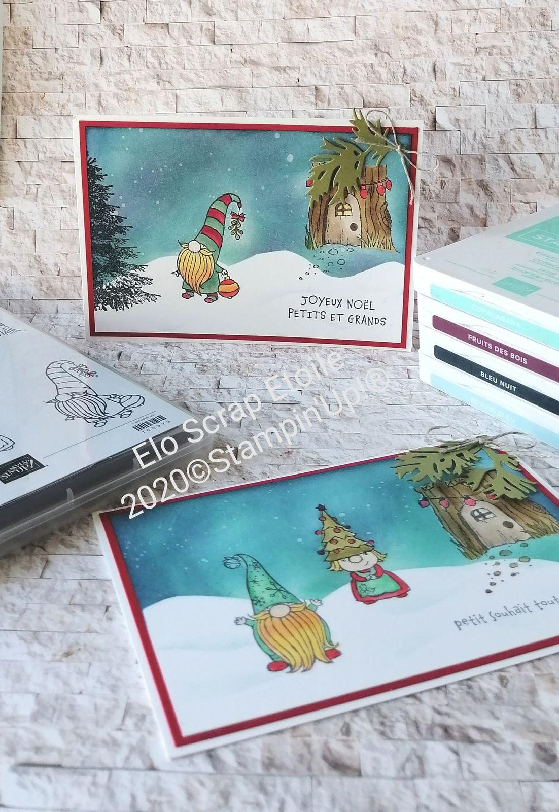 Noël chez les Gnomes Stampin'Up!