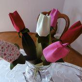 Tulipes De Printemps - Les Loisirs de Marie