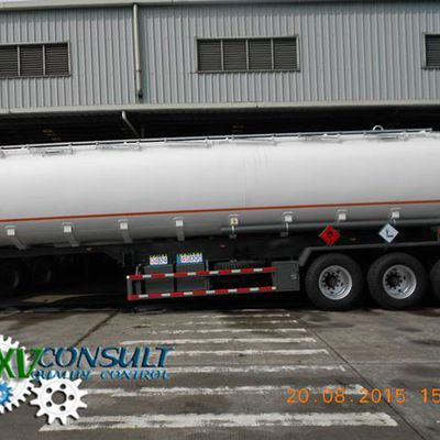 1/ Fuel Semi Trailers Tankers 45000 Liters - Off Road - 4 of 48 Units - Quality Control - Shipping - China - Part 3/4