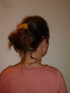 Un chignon flou (en 2 temps 3 mouvements)