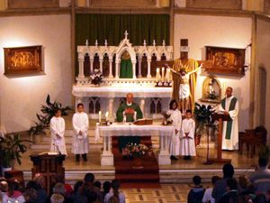 Arrivée de l'abbé Waldemar KRASNY, prêtre polonais à Algrange