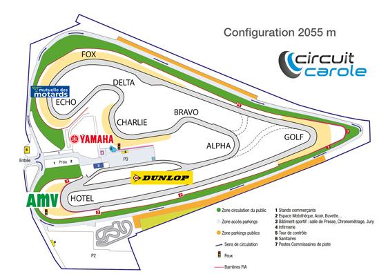 IRON BIKERS 2016 : circuit CAROLE