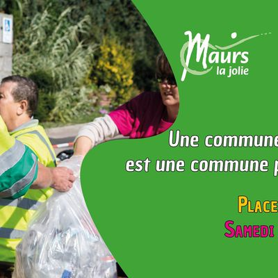 World CleanUp Day à Maurs