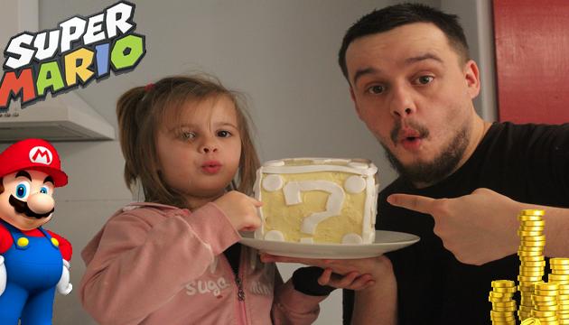 Recette Du Super Mario Cake Question Block Surprise Avec Kaëna