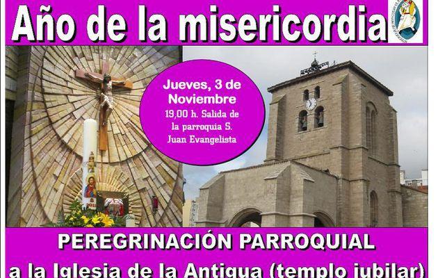 Peregrinación Jubilar a la Iglesia de la Antigua