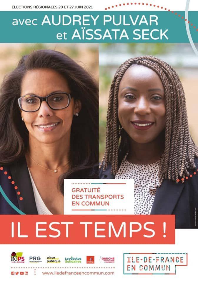 «Régionales : Meeting de soutien à Audrey PULVAR, au gymnase Japy, à Paris 11ème : il est temps !» par Amadou Bal BA - http://baamadou.over-blog.fr/