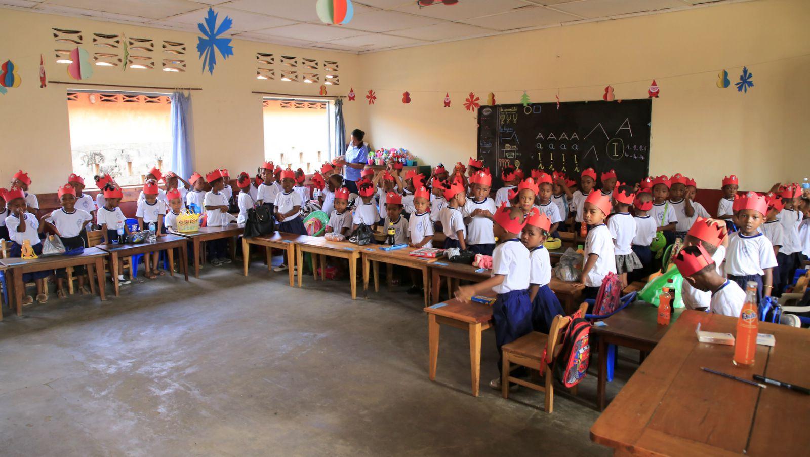 LES ACTIONS DE CŒUR DU MONDE À MADAGASCAR, NOVEMBRE 2020