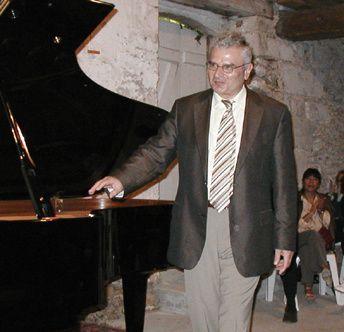 Récital concert Chopin à Sarrazac