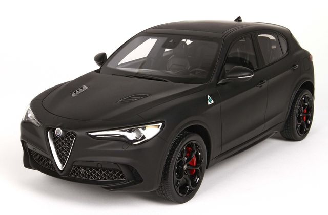 L'Alfa Romeo Stelvio QV disponible à l'échelle 1:18 chez BBR