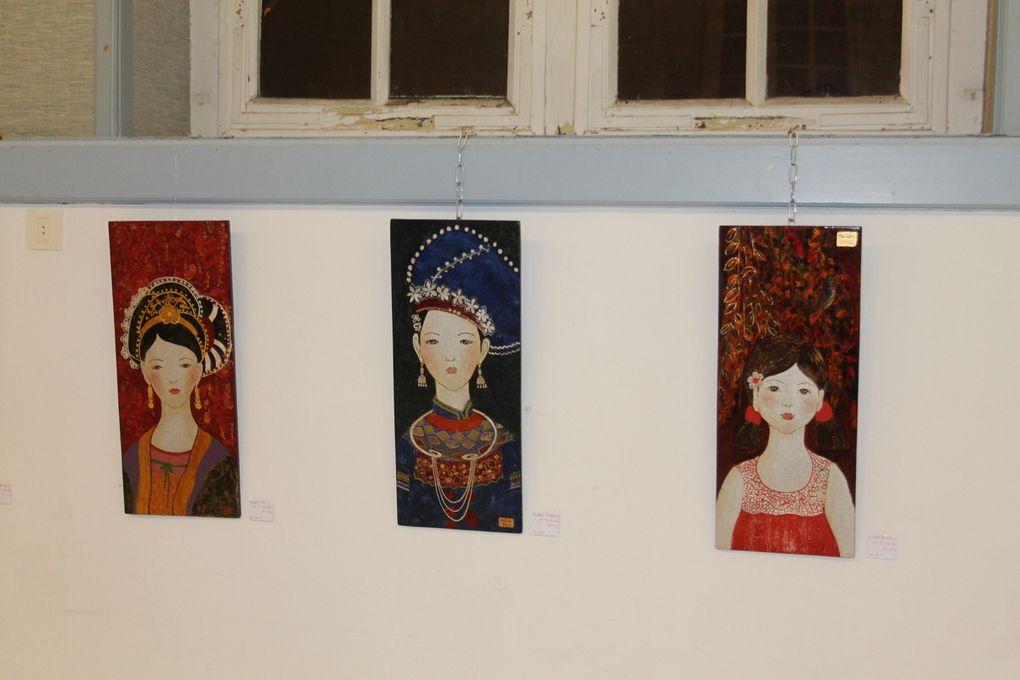 exposition des artistes vietnamiens et adhérents de VN 17 le 30 octobre 2013