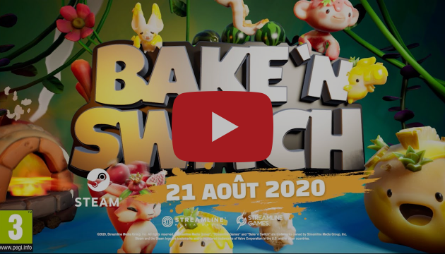 [ACTUALITE] Bake 'n Switch - Disponible sur Steam
