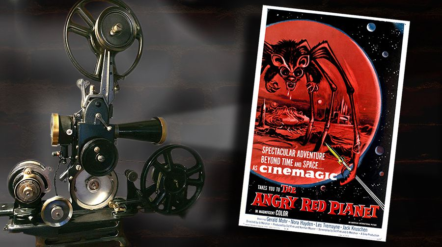 👽🎬 IB MELCHIOR - LA PLANÈTE ROUGE (THE ANGRY RED PLANET, 1959)