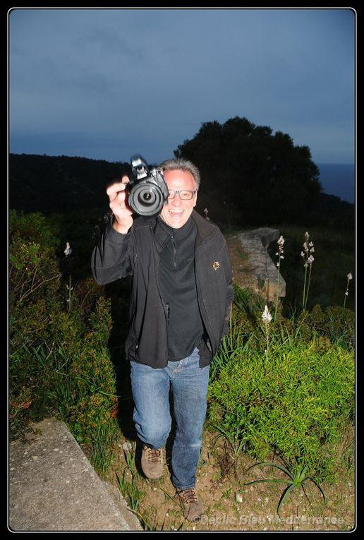 La joie partagée lors de cette rencontre, même hors de l'eau. Déclic Bleu Méditerranée au parc national de Port Cros.