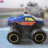 MONSTER TRUCK FORD F150 BIG FOOT HOT WHEELS 1/64 MC DONALDS 2012 - car-collector.net