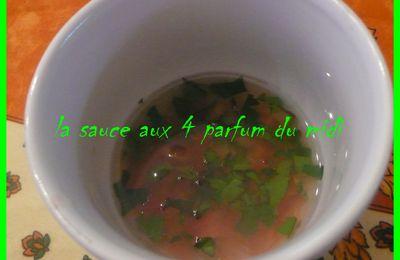 LA SAUCE AUX 4 PARFUMS DU MIDI