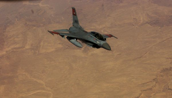Photo : © US Air Force - F-16 de la Force Aérienne Egyptienne.