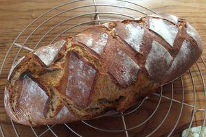 Le pain au levain bio de Poulette