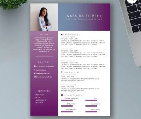 Comment faire un CV design en quelques clics ?