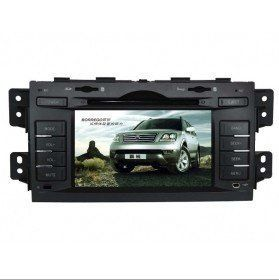 lcd or plasma  | On line Piennoer Original Fit (2008-2012) KIA Borrego 6-8 Inch Touchscreen Double-DIN Car DVD Player  &  In Dash Navigation System,Navigator,Built-In Bluetooth,Radio with RDS,Analog TV, AUX & USB, iPhone/iPod Controls,steering wheel control, rear view camera input