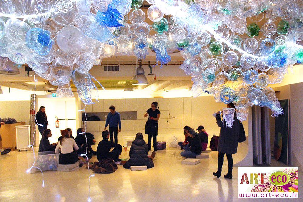 # art et recyclage # exposition art et environnement # art métamorphose # réduction des déchets # art déchets électroniques