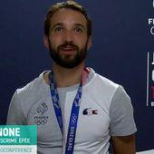 Stade 2 Entretien en Or avec Romain Cannone, champion olympique d'escrime