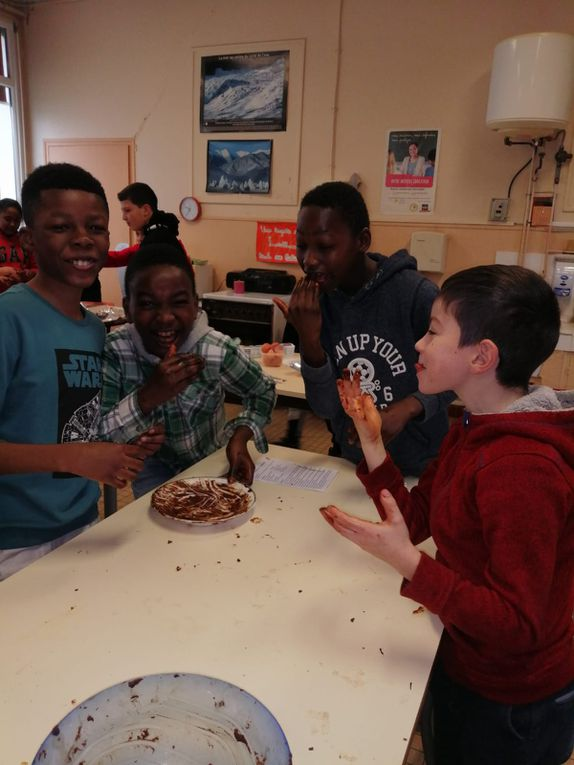 Le saucisson au chocolat (de Mme Galland)