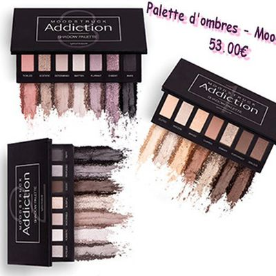 Palettes d'ombres à paupières - Moodstruck Addiction