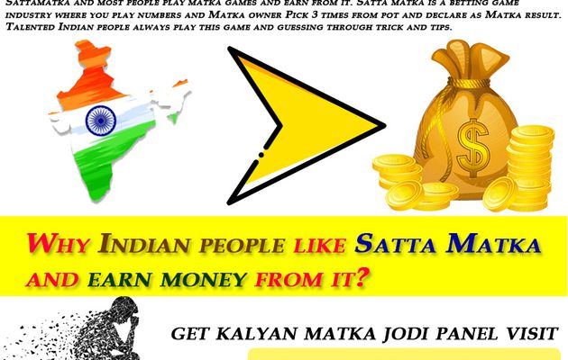 Why Indian people like Satta Matka and earn money from it?
