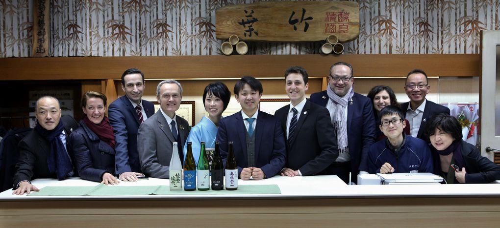 Au coeur de la brasserie de saké Kazuma.