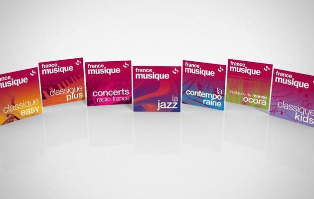 Média : France Musique lance sept nouvelles webradios