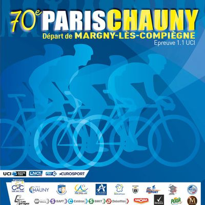 70ème Paris Chauny le 27 septembre. (Europe Tour 1.1) 7ème manche de la Coupe de France.